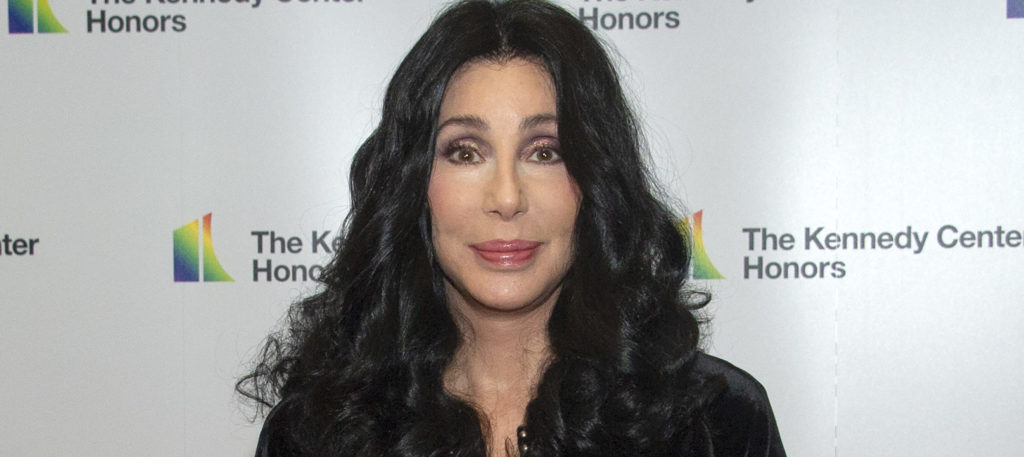Cher arrives for the formal Artist's Dinner of the 41st Annual Kennedy Center Honors. (Ron Sachs-Pool/Getty Images)
