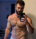 Dave Marshall, a gay wrestler, who is making gay porn to raise funds for charity