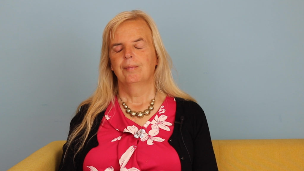 Emily Brothers speaks to PinkNews about being a blind trans woman