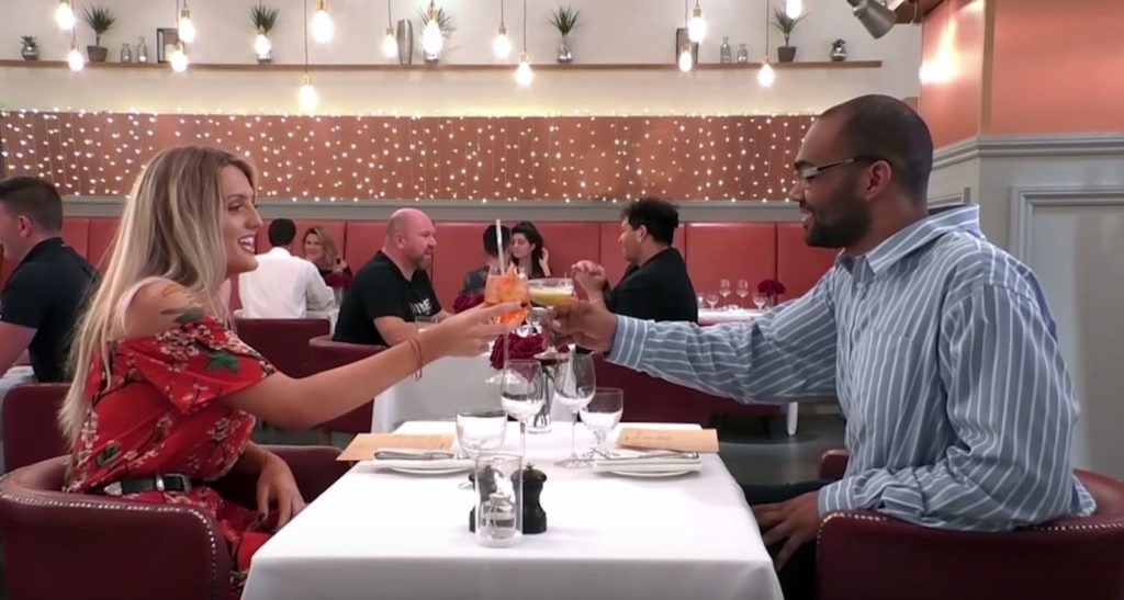 First Dates features trans woman Danni and pansexual Aiden