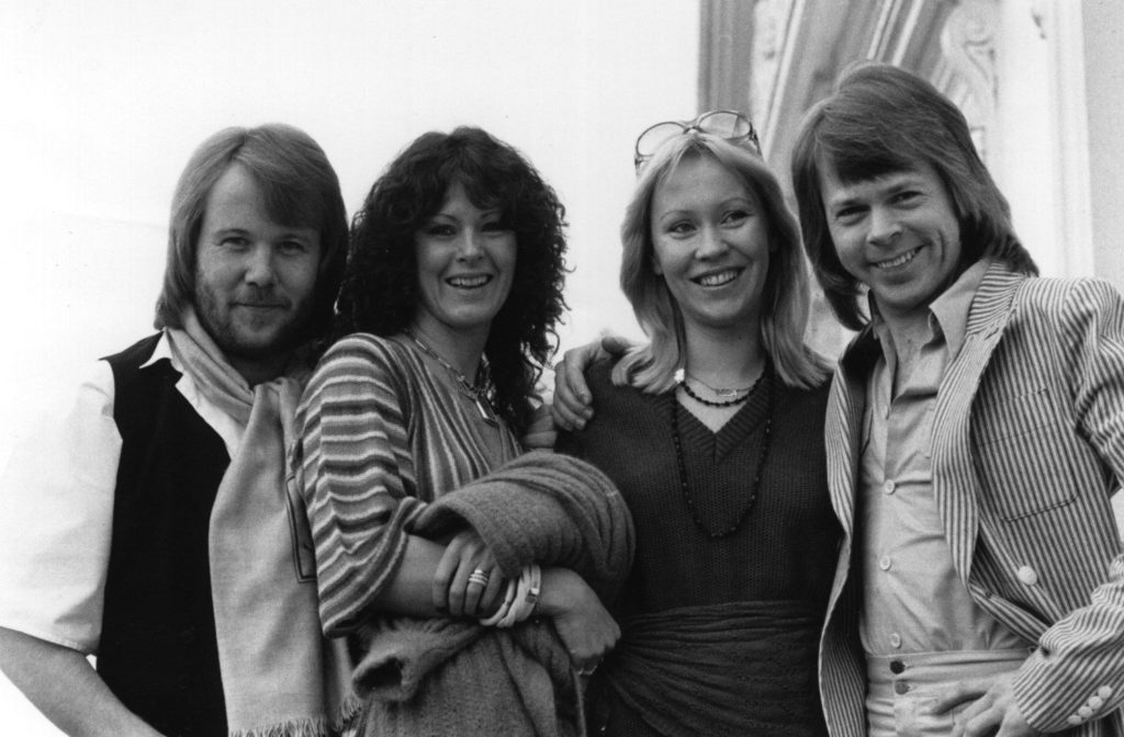 ABBA in their 1970s heyday (Getty Images)