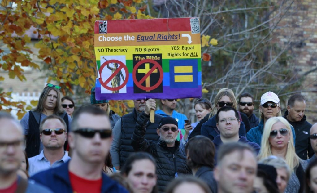 companies against same sex marriage in Indianapolis