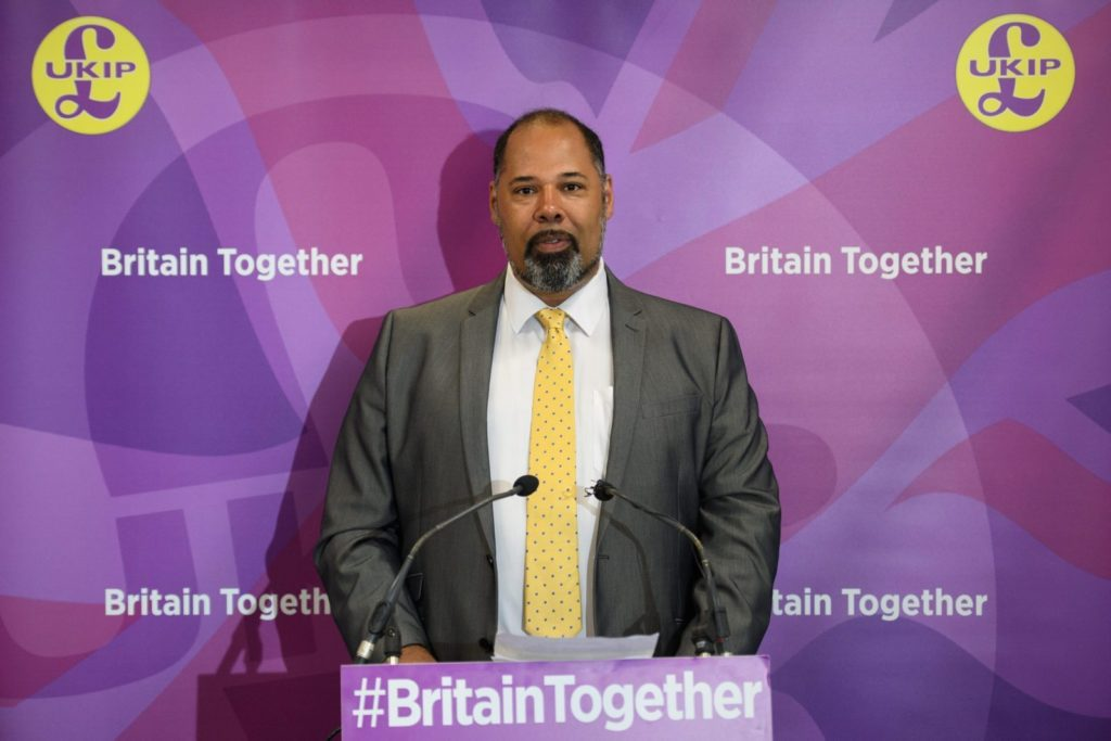 UKIP politician doesn't want police to 'ponce around' at Pride events