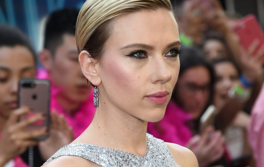 NEW YORK, NY - JUNE 12: Actress Scarlett Johansson attends New York Premiere of Sony's ROUGH NIGHT presented by SVEDKA Vodka at AMC Lincoln Square Theater on June 12, 2017 in New York City. (Photo by Jamie McCarthy/Getty Images for SVEDKA Vodka)