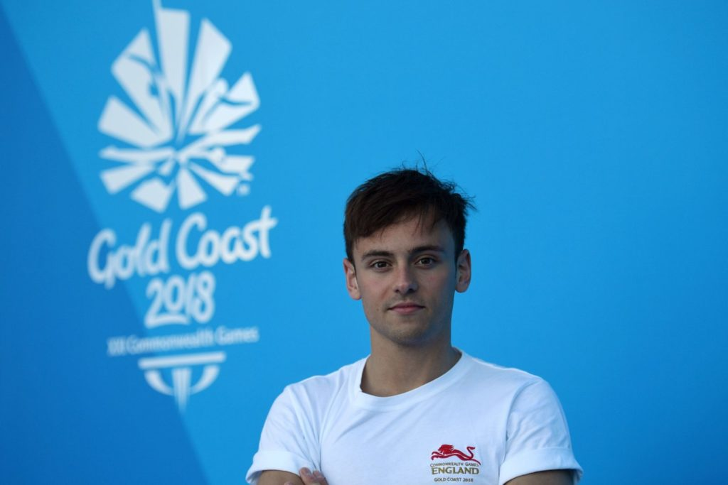 Tom Daley (Photo by ANTHONY WALLACE/AFP/Getty Images)