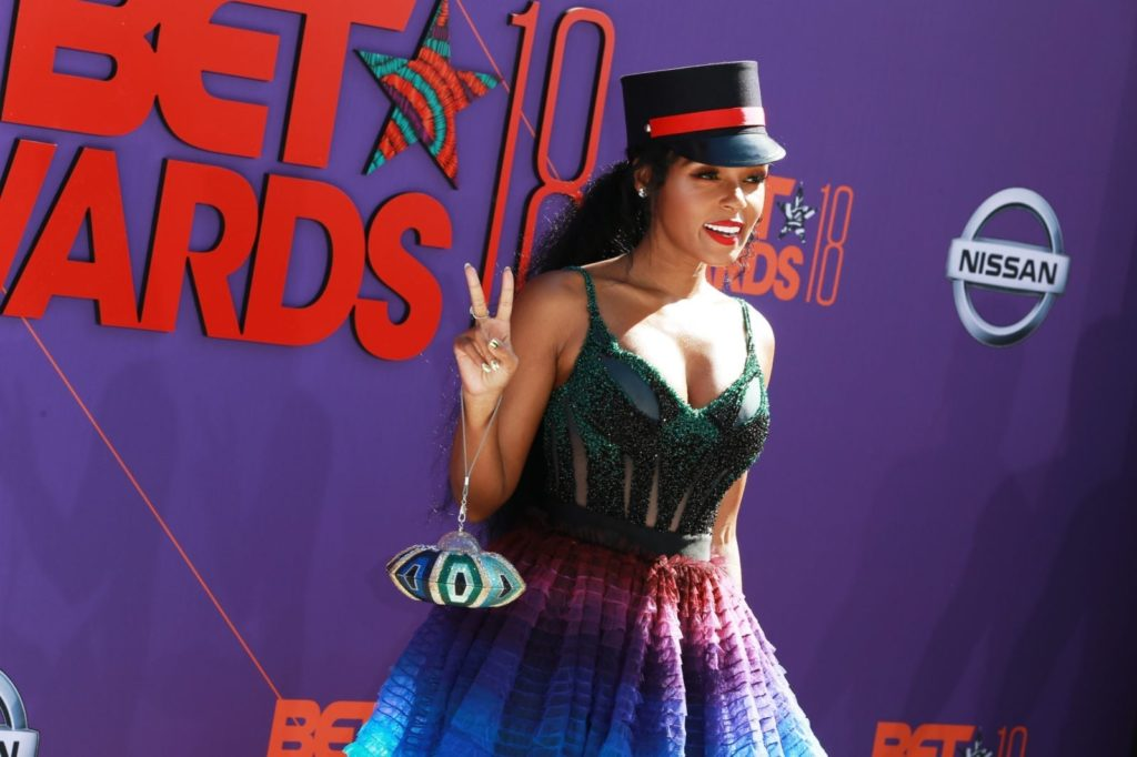 LOS ANGELES, CA - JUNE 24: Janelle Monae attends the 2018 BET Awards at Microsoft Theater on June 24, 2018 in Los Angeles, California. (Photo by Leon Bennett/Getty Images)