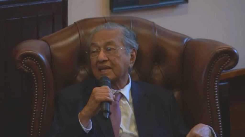 Mahathir bin Mohamad hit out at same-sex marriage