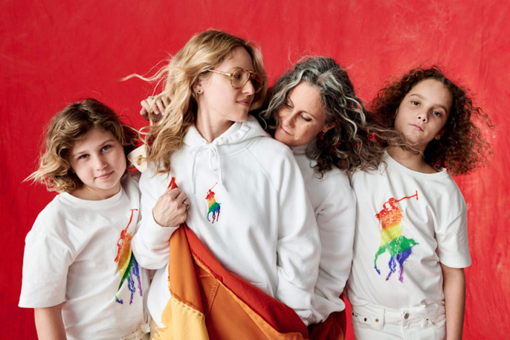 10b94ee4 Ralph Lauren releases Pride month rainbow pony collection • PinkNews
