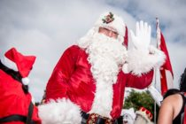 Santa Claus, who is the focus of a debate in Newton Aycliffe, County Durham, after local resident asked if he could be played by a woman