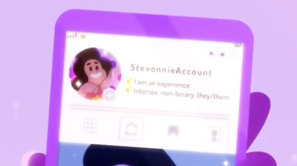 Cartoon Network reveals a major Steven Universe character is intersex and non-binary