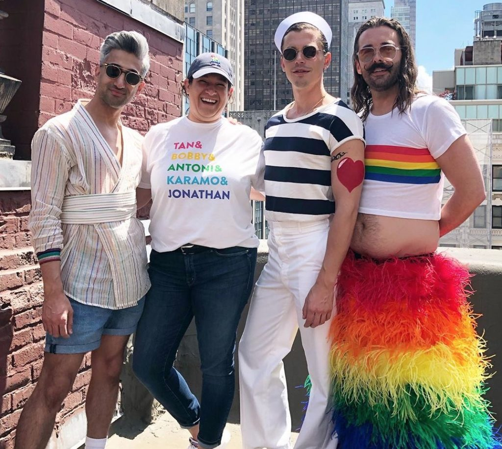 Jonathan Van Ness went as a rainbow to New York Pride and it was awesome