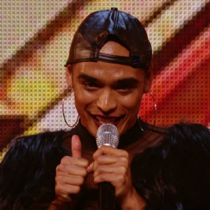 Watch: This X Factor contestant wowed the judges wearing a skirt and