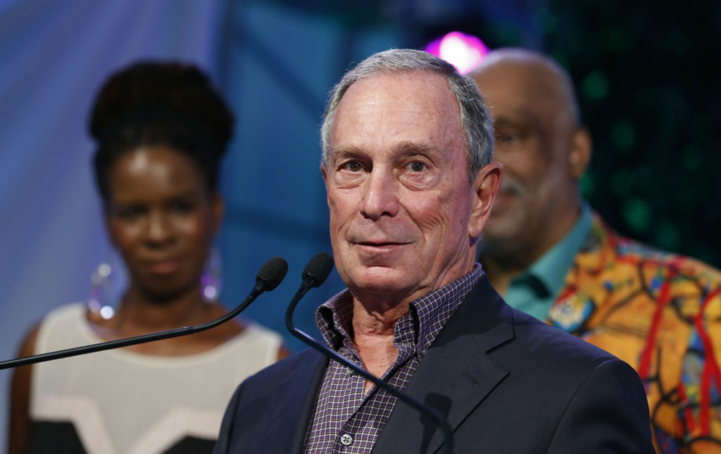 Mayor Bloomberg shows support for gay marriage in New York