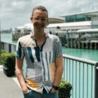 A photo of New Zealand Young Greens co-convenor Max Tweedie, who allegedly suffered abuse
