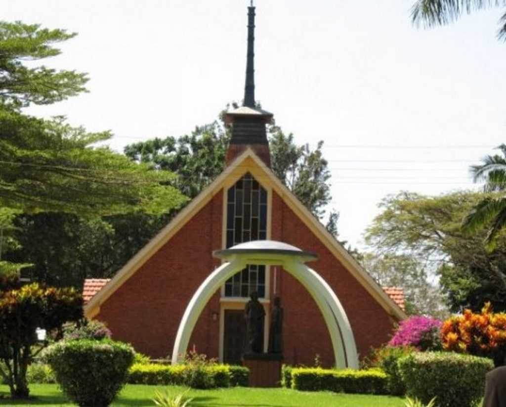 St Mary's College Kisubi in central Uganda