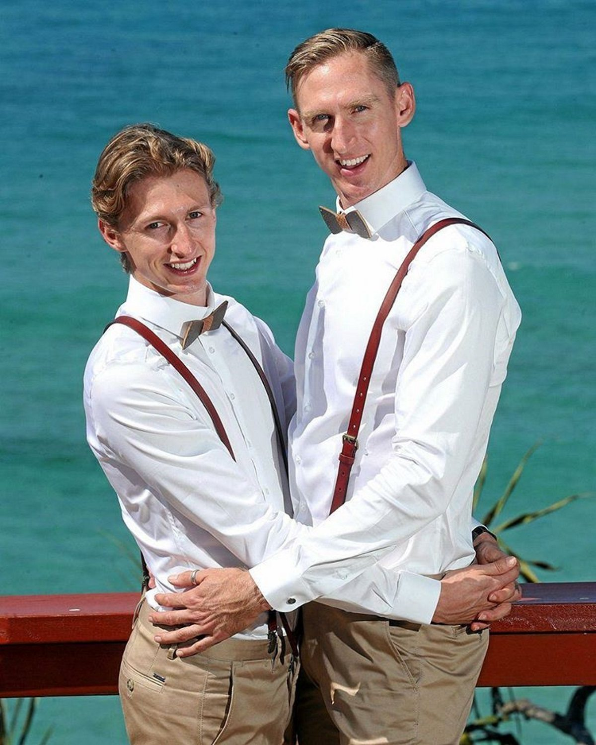 This Australian Gay Couple Married Just Minutes After Same