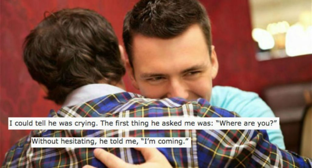 My parents pretended my long lost gay brother was missing, until I