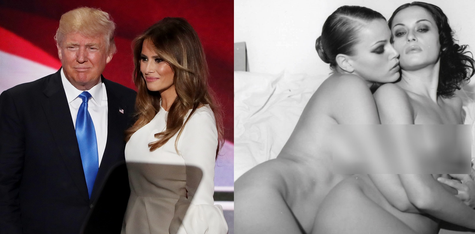 Melania Trumps nude modeling photos are exposed - YouTube