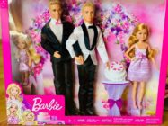 The same-sex Ken pairing which Matt Jacobi and his partner Nick Caprio made for Jacobi's niece