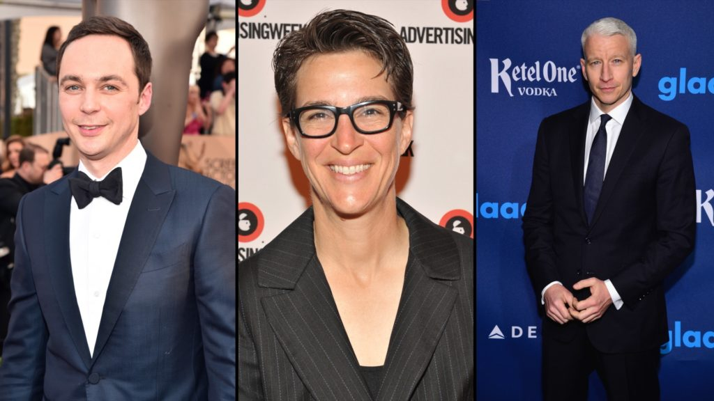 LGBT stars top 'highest paid' list