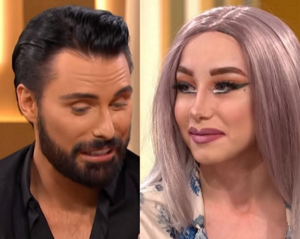 Teen drag queen Lewis Bailey makes Rylan Clark-Neal cry with pride