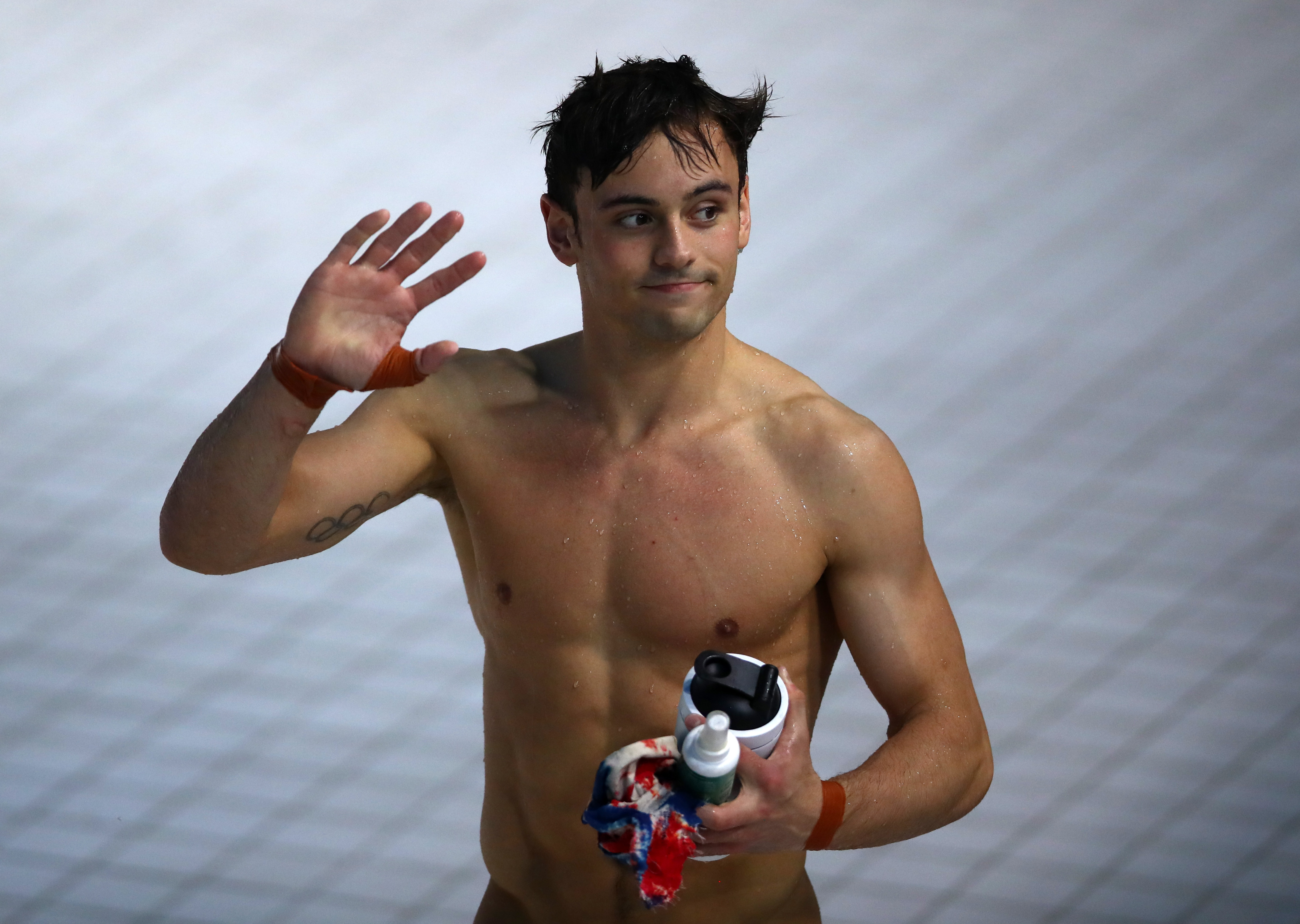 Tom Daley wants gay footballers to come out for young LGBT+ fans