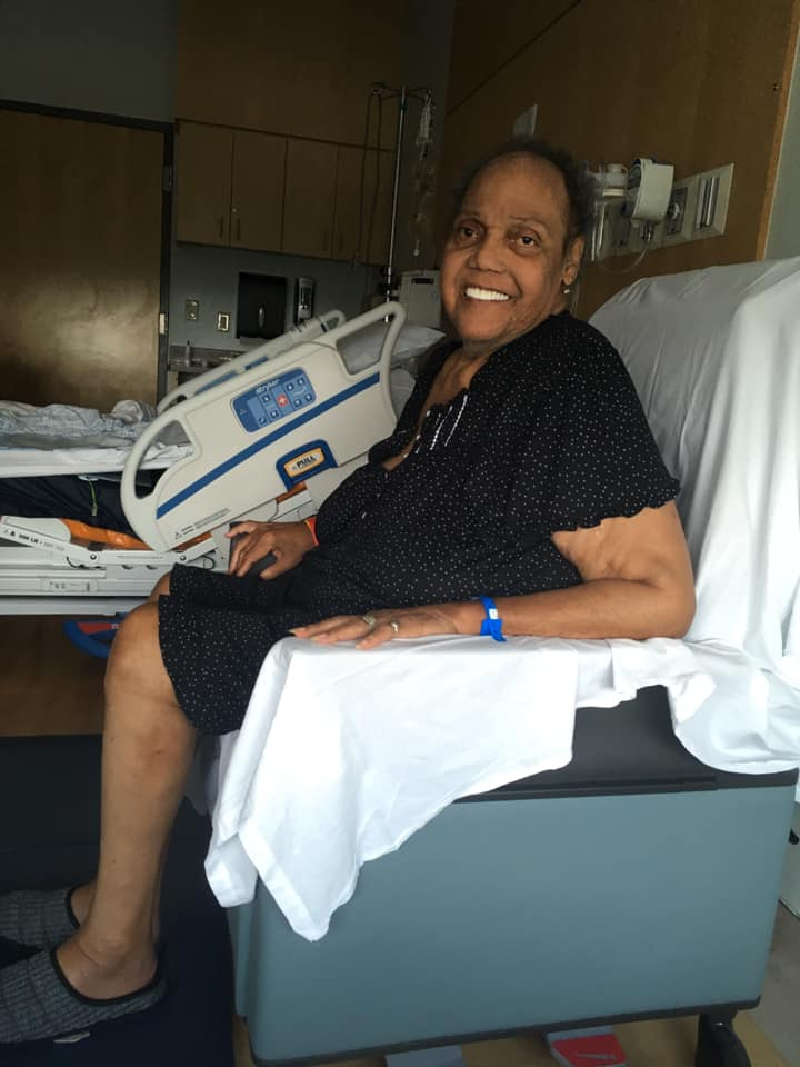 Miss Major Griffin-Gracy is recovering from a stroke