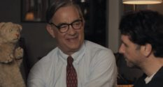 Tom Hanks plays Fred Rogers in A Beautiful Day in the Neighbourhood (Sony Pictures Entertainment)