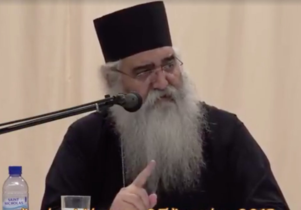 Gay men 'have a specific stink' says Cyprus hate bishop