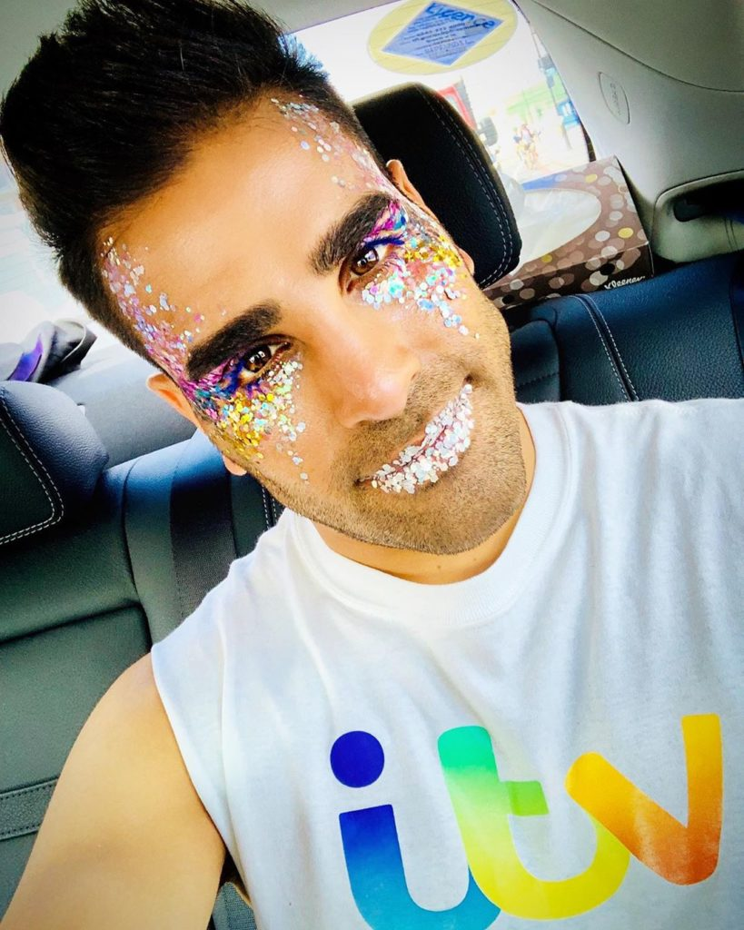 Dr Ranj took part in Pride in London on Saturday
