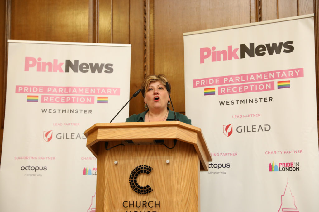 Emily Thornberry calls for UK to expel Commonwealth countries with anti-LGBT laws