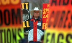 Westboro Baptist church leader Rev Fred Phelps allegedly changed his mind about gay people