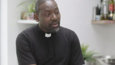 """Talking about HIV within my faith community was challenging"" says Reverend Jide Macaulay"