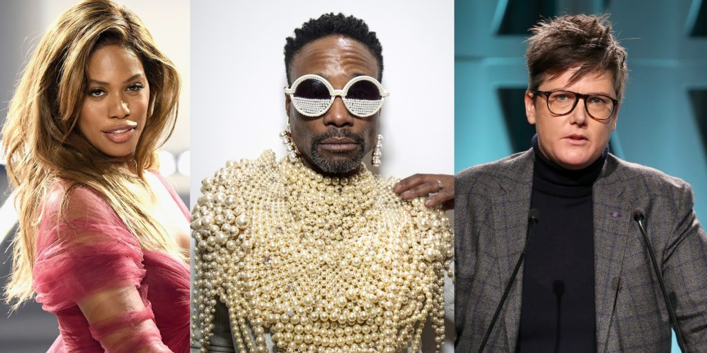 Laverne Cox, Billy Porter and Hannah Gadsby are up for Emmy Awards