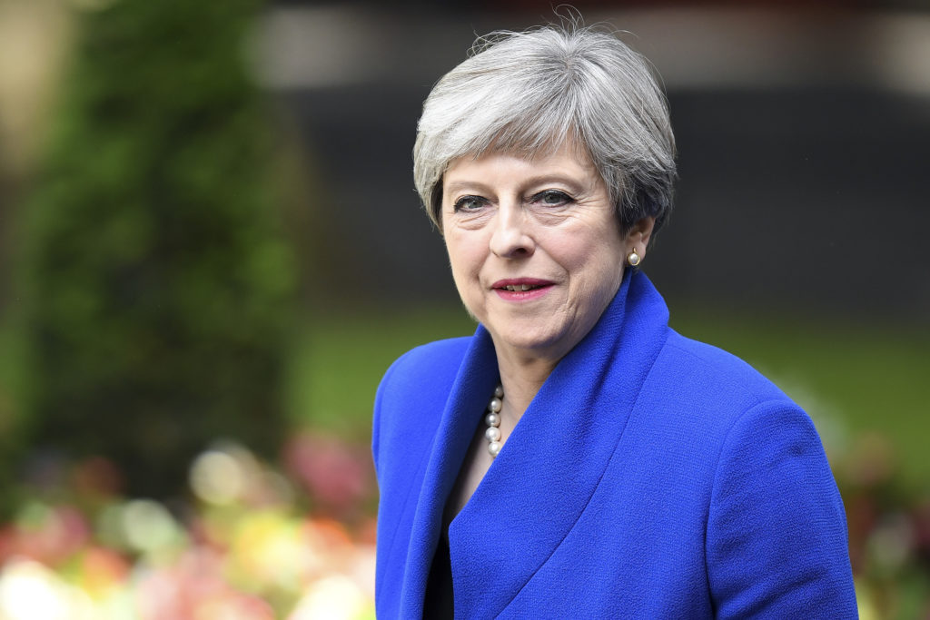 Theresa May will officially resign as the UK's prime minister at Buckingham Palace on July 24.