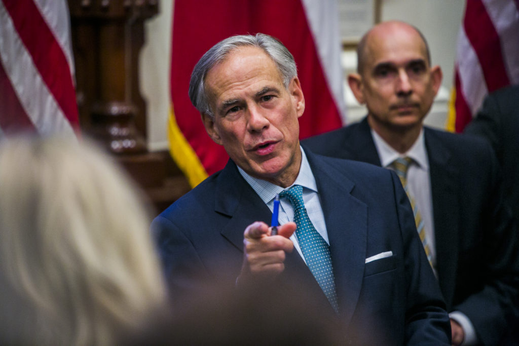 Texas governor signs bill banning discrimination against homophobes