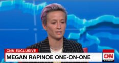 Women's World Cup champion Megan Rapinoe