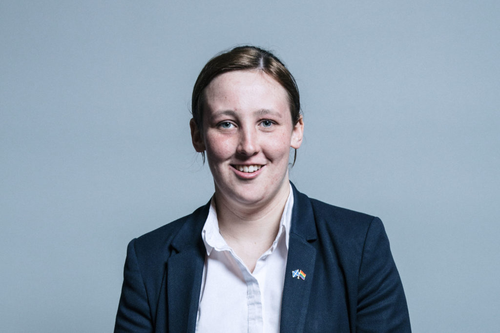 Mhairi Black challenged anti-transgender viewpoints
