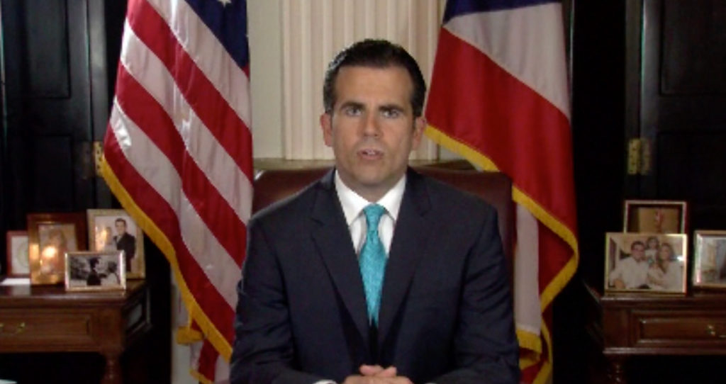 Puerto Rico governor to resign after protest