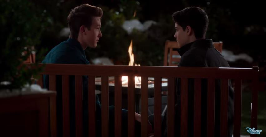 Disney Channel unveils first teenage gay couple in Andi Mack finale