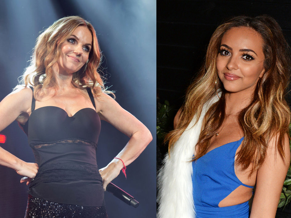 Geri Horner (L) and Jade Thirlwall (R)