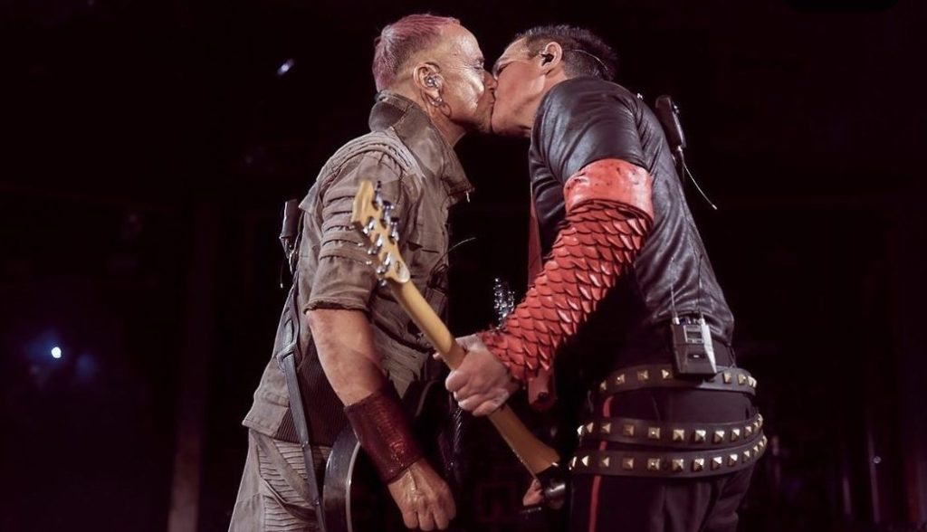 Rammstein Band Members Kiss at Moscow Concert to Protest Russian Homophobia