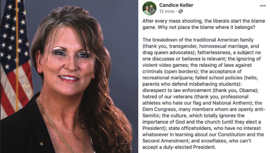 Ohio Rep. Candice Keller Blames Weed, Gay Marriage, Obama For Mass Shootings