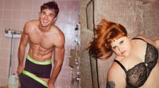 Jacob Elordi in Calvin Klein boxers, Beth Ditto in a lace bra
