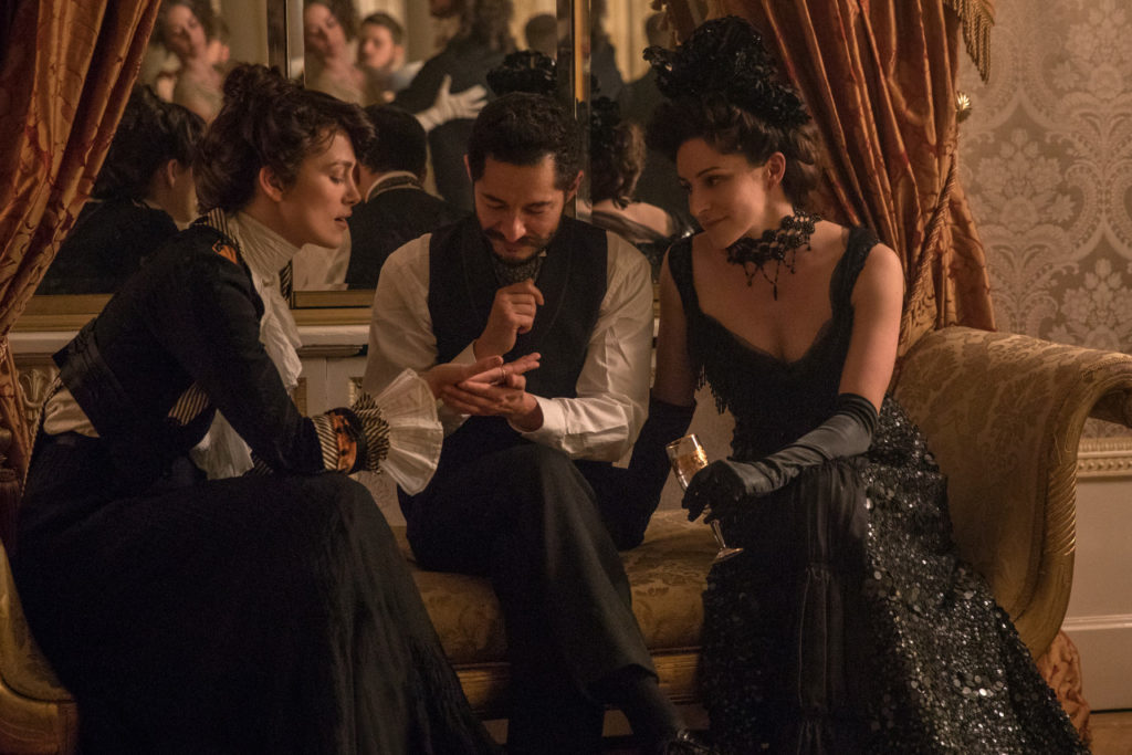 Jake Graf and Keira Knightley in Colette