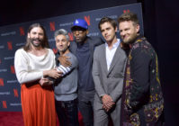 Queer Eye cast pose on the red carpet