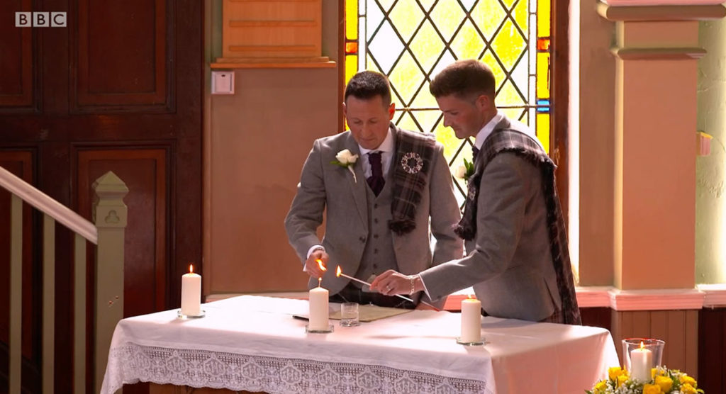 Songs of Praise aired a same-sex wedding and the internet loved it