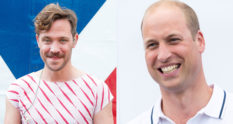 Will Young and Prince William